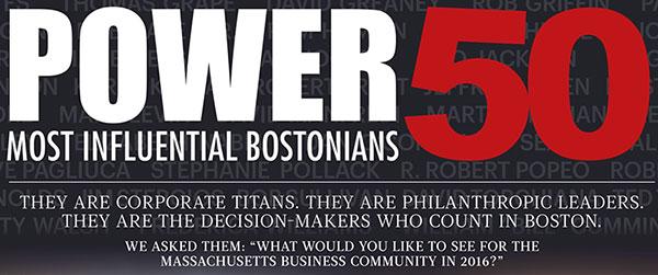 Boston Business Journal Power 50